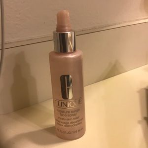 Clinique surge face spray used twice